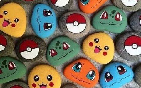 日本艺术家用石头画小动物,简直太可爱了!网友:想要!