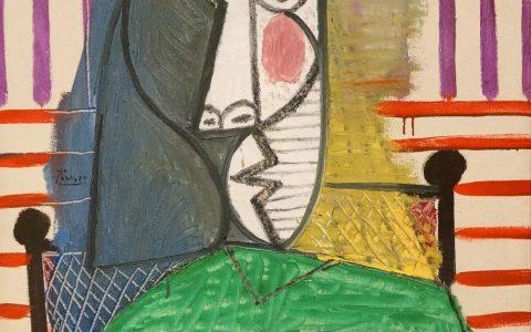 毕加索1.8亿天价名画被撕毁!让画作原型得知后估计又得哭了……