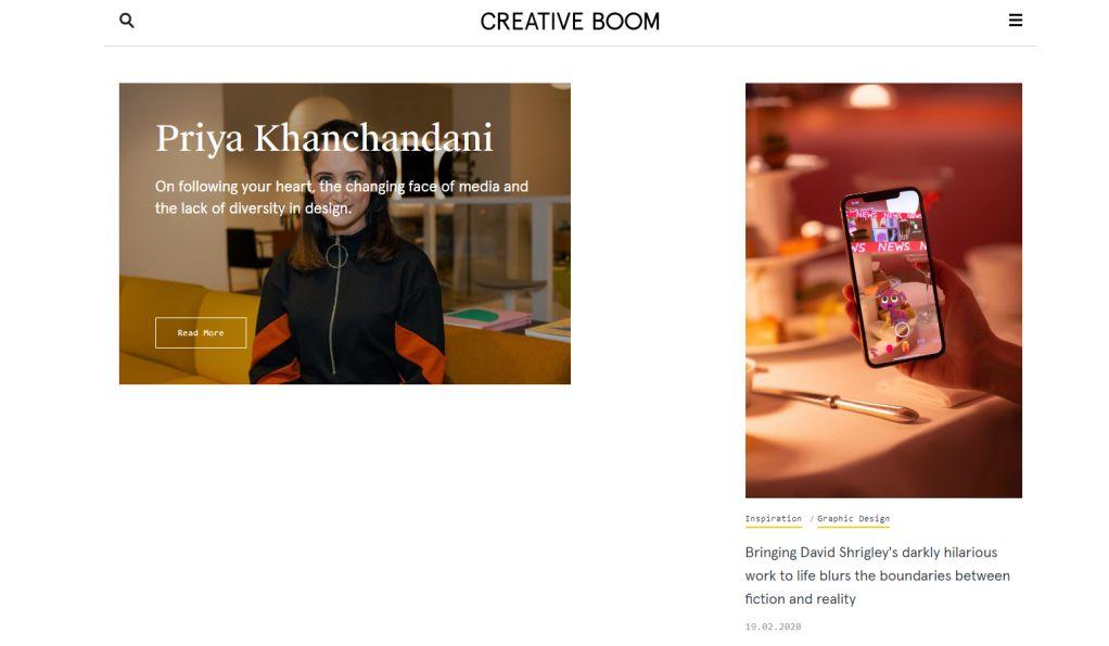 请收藏!2020值得关注的50个国外创意网站