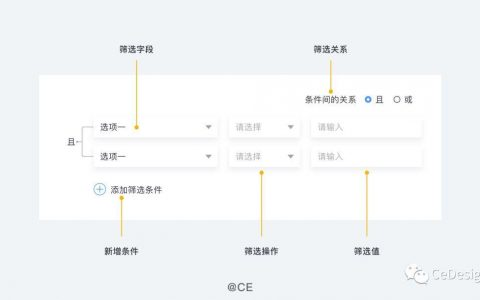 B端设计指南01 —— 筛选控件总结